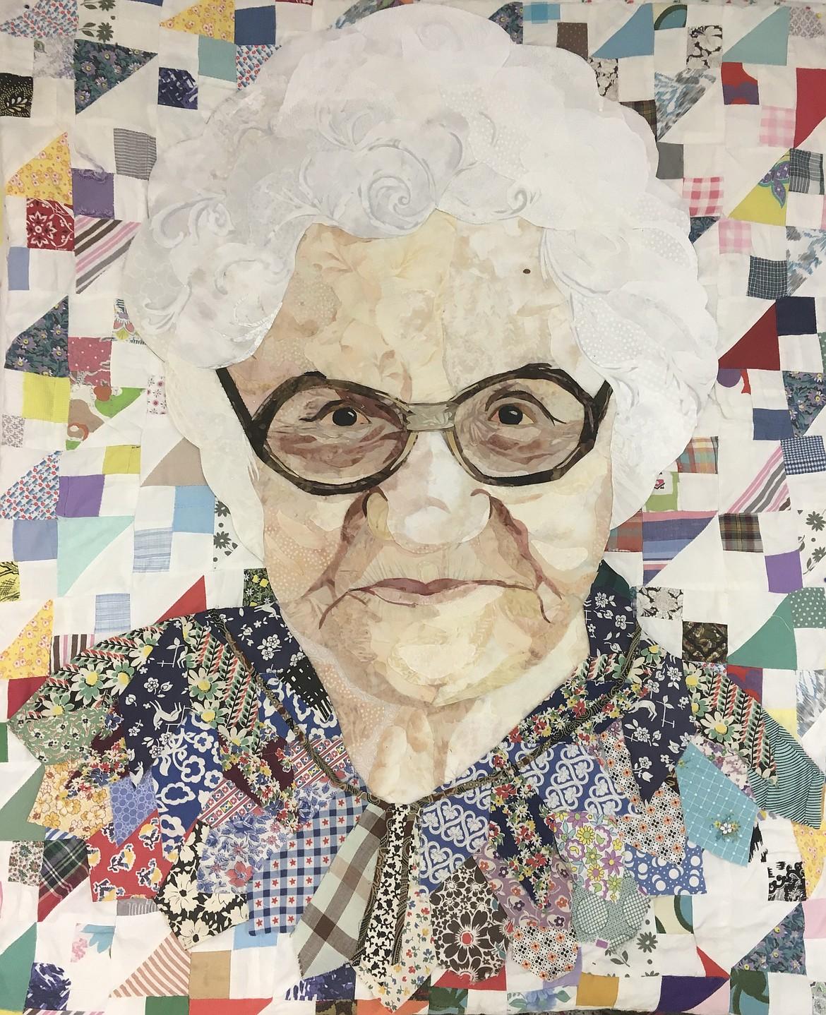 """Grandma Eslinger"" quilt by Lanette Cuffe"