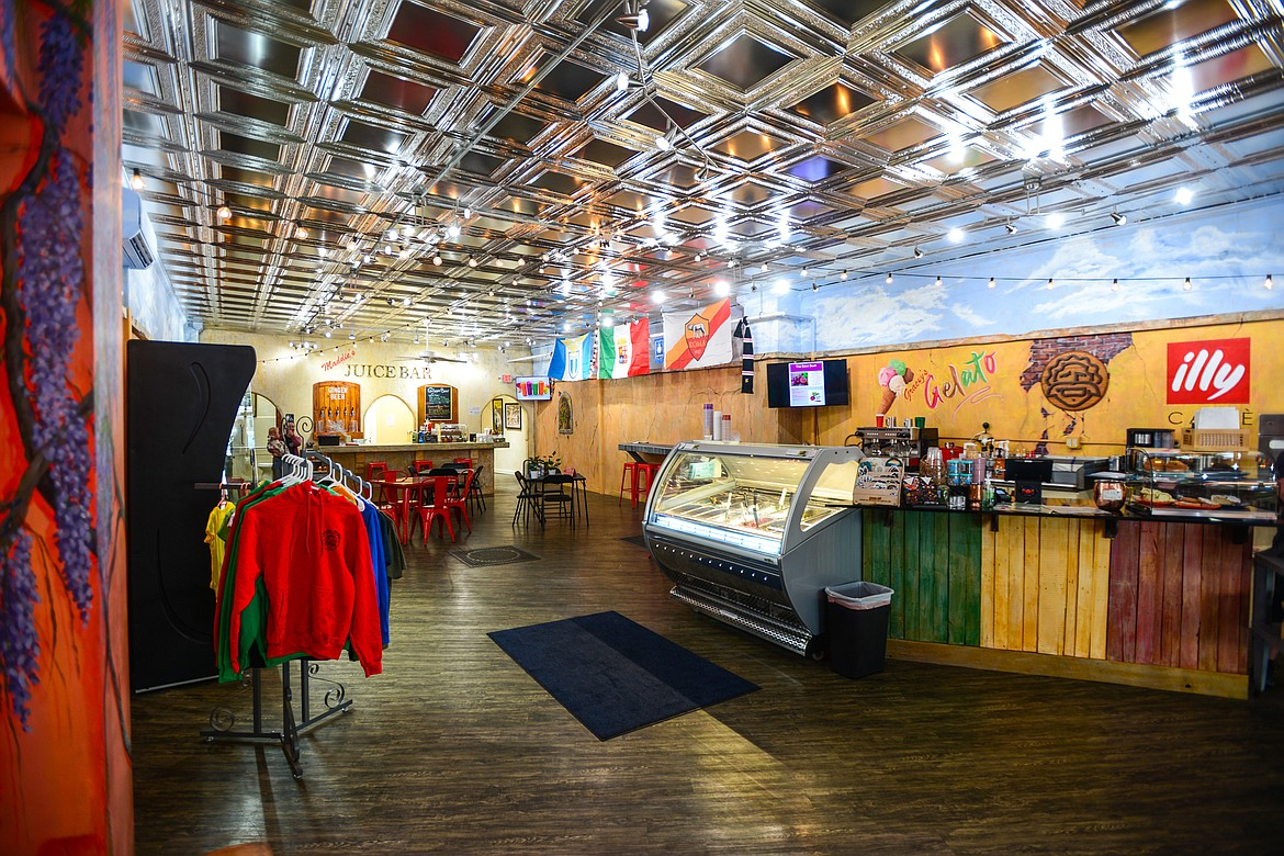 Inside Huck's Place Ginger Brew and Juice Bar in Whitefish on Wednesday, Sept. 8. (Casey Kreider/Daily Inter Lake)