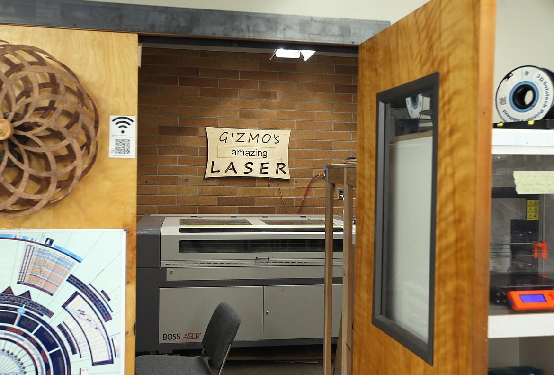 Gizmo's amazing laser awaits at Gizmo-CDA.